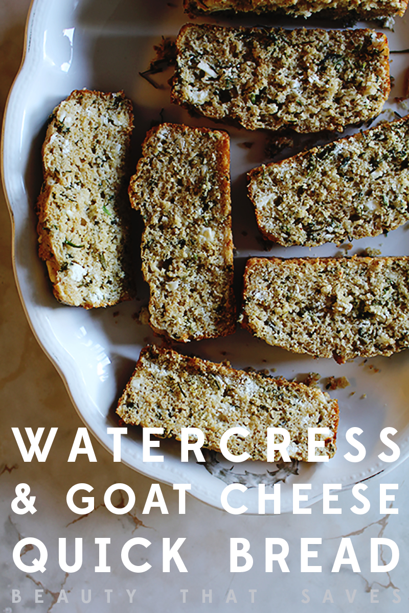 Watercress Goat Cheese