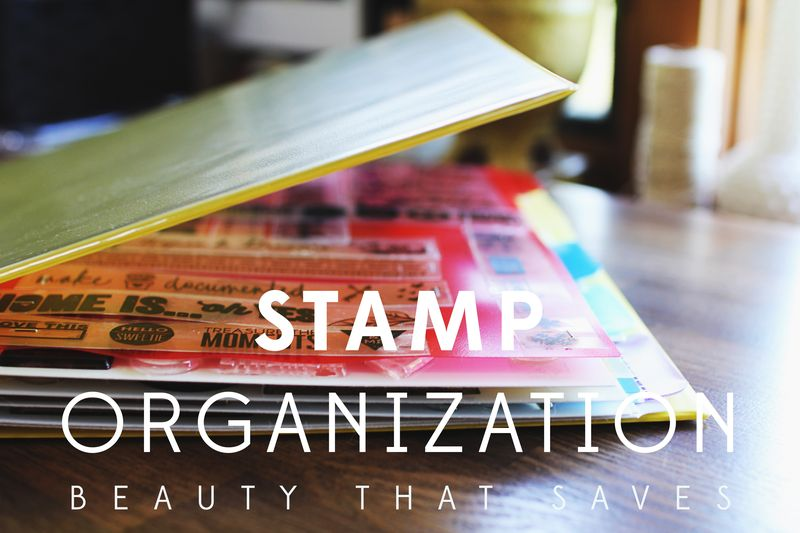 Stamp Organizing Studio Calico